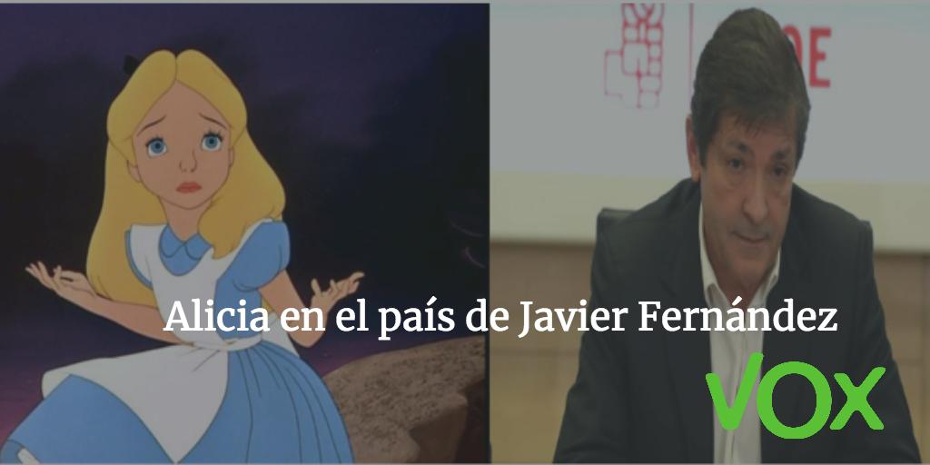 Alicia en el país de Javier Fernández